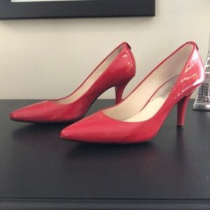 MICHAEL Michael Kors Red Patent Leather Pump